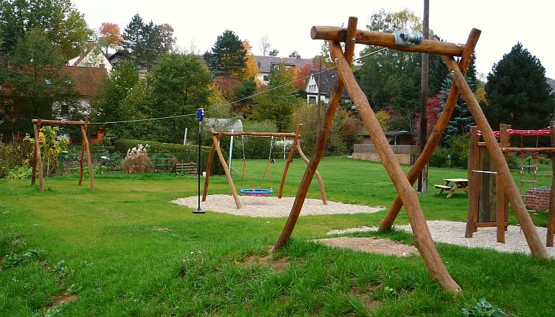 Klettergerüst Garten Bauen : Kletterkombinationen und klettergerüste mit seilen netzen