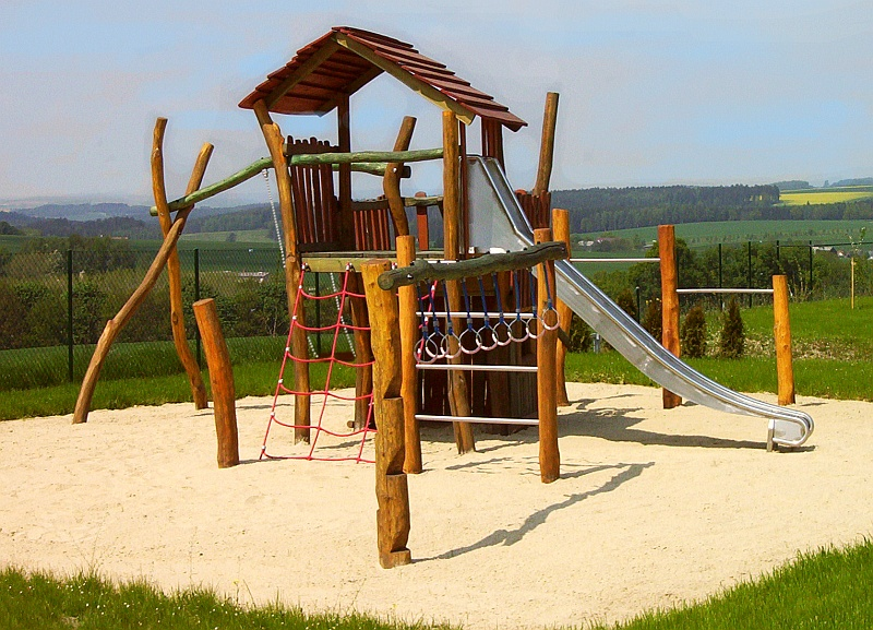 Häuser Und Türme Kindergarten Individuelle Spielplatzgeräte Aus